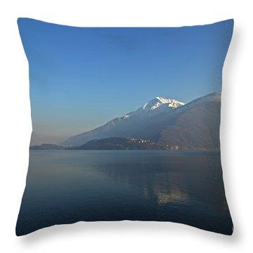 Lake Como Throw Pillow