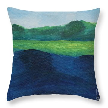 Lake Day Throw Pillow