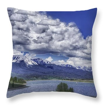 Lake Dillon Throw Pillow