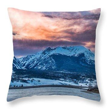 Lake Dillon Throw Pillow