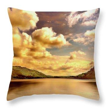 Lake District Uk Throw Pillow