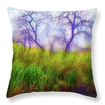 Lake Dream Peace Throw Pillow