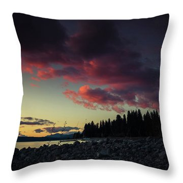Lake Dreams Throw Pillow