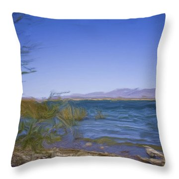Havasu  Throw Pillow by Gilbert Artiaga