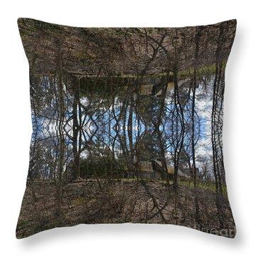 Lake House Throw Pillow
