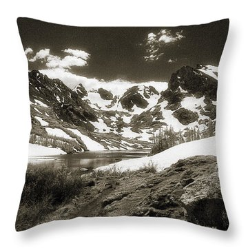 Lake Isabelle  Throw Pillow