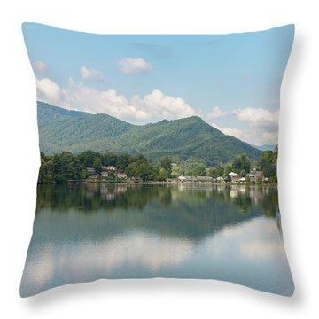 Lake Junaluska #1 - September 9 2016 Throw Pillow