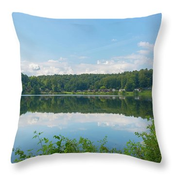 Lake Junaluska #3 September 9 2016 Throw Pillow