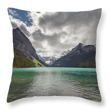 Lake Louise, Banff National Park Throw Pillow