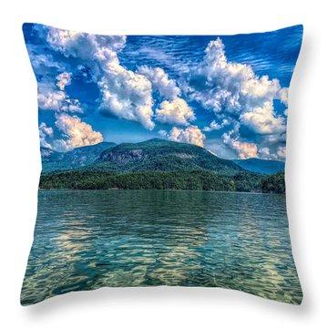 Lake Lure Beauty Throw Pillow