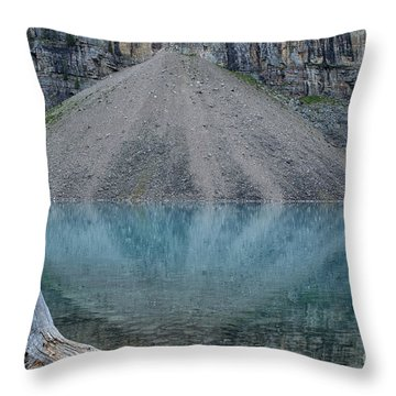 Lake Maligne Throw Pillow
