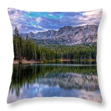 Lake Mamie Panorama Throw Pillow