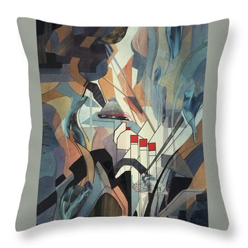 Lake Mead Throw Pillow