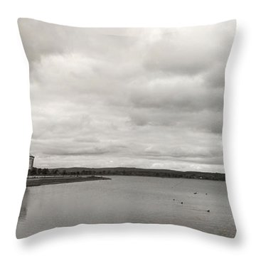 Lake Moods I Throw Pillow