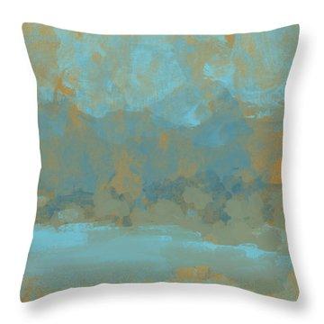 Lake Mountain Throw Pillow by Jessica Wright