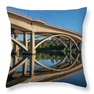 Lake Natoma Crossing Throw Pillow