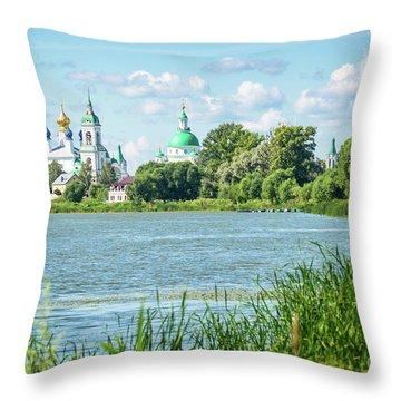 Lake Nero Throw Pillow