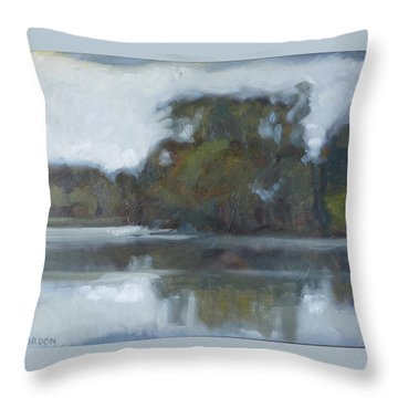 Lake Of The Isles Throw Pillow