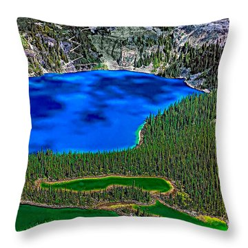 Lake O'hara Throw Pillow by Steve Harrington