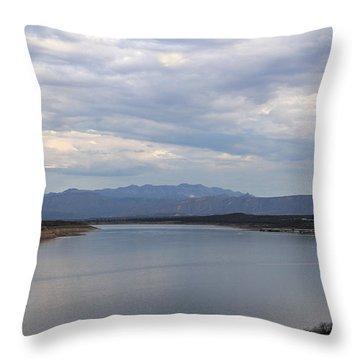 Lake Roosevelt 2 Throw Pillow