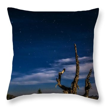 Lake Tahoe Big Dipper Throw Pillow