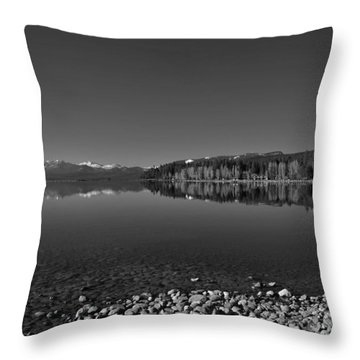 Lake Tahoe Reflections Throw Pillow