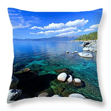 Lake Tahoe Summer Treasure Throw Pillow