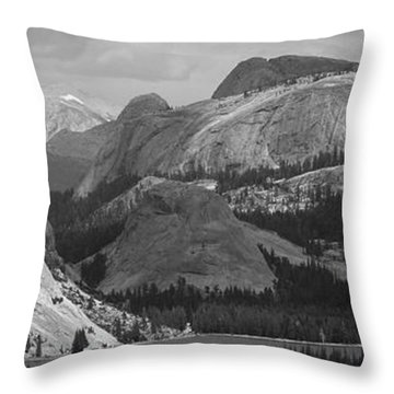 Lake Tenaya Throw Pillow
