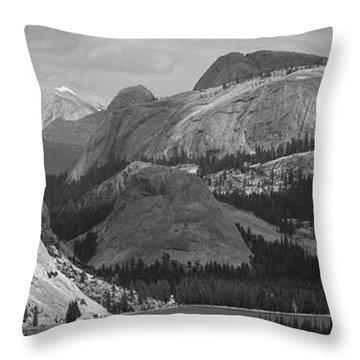 Lake Tenaya Throw Pillow