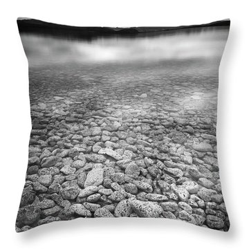 Lake Thingvallavatn Iceland Throw Pillow