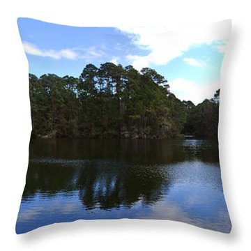 Lake Thomas Hilton Head Throw Pillow