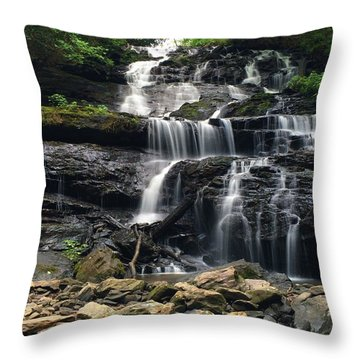 Lake Trahlyta Falls Throw Pillow