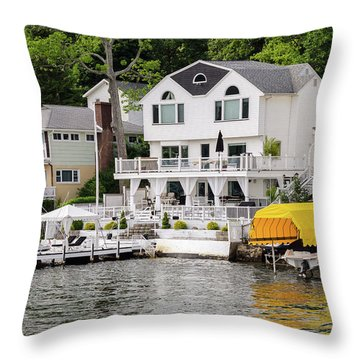 Lakefront Living Hopatcong Throw Pillow