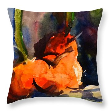 Lakelyn's Pumpkins Throw Pillow