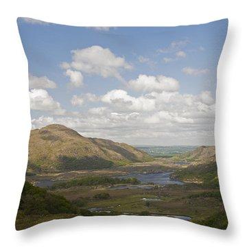 Lakes Of Killarney Throw Pillow
