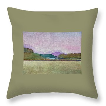Lakes Of Killarney Throw Pillow