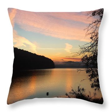Lakeside Dreaming Throw Pillow