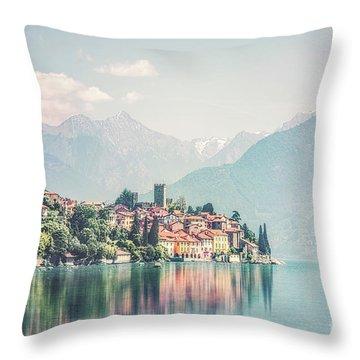 Lakeside Harmony Throw Pillow