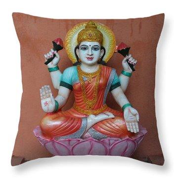 Lakshmi, Satara Throw Pillow