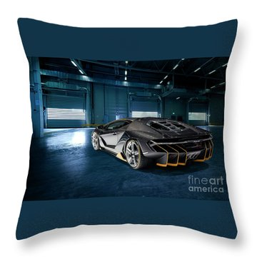Lamborghini Centenario Lp 770-4 Throw Pillow