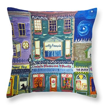Lamothe Street Throw Pillow