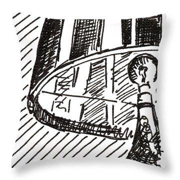 Lamp 1 2015 - Aceo Throw Pillow