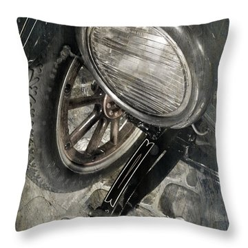 Throw Pillow featuring the photograph Vintage Car #3124 by Andrey  Godyaykin