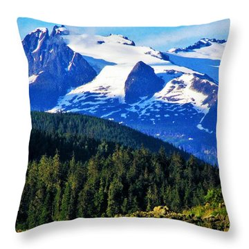 Earth Throw Pillow by Martin Cline