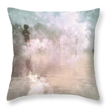 Land Of Ascension Throw Pillow