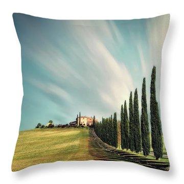 Land Of Dreams Throw Pillow