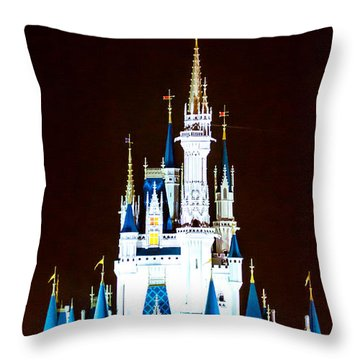 Land Of Dreams Throw Pillow