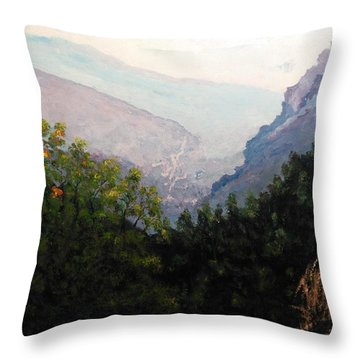Land Of Inspiration Throw Pillow