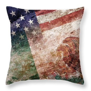 Land Of Opportunity Throw Pillow