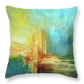 Land Of Oz Throw Pillow by Tatiana Iliina